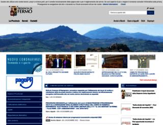 provincia.fermo.it screenshot