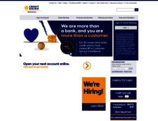 provincialcu.com screenshot