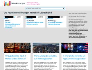 provisionsfrei-wohnung-mieten.de screenshot