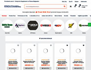 provitamin.com.tr screenshot