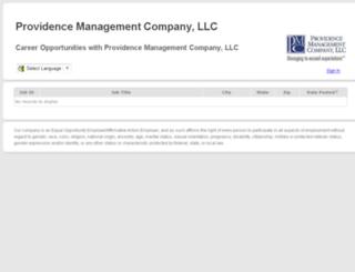 provman.companycareersite.com screenshot