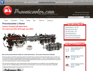 provoscooter.com screenshot