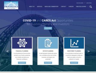 provwealth.com screenshot