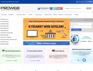 proweb.com.tr screenshot