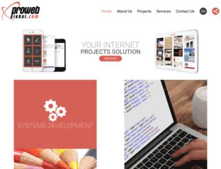 prowebglobal.com screenshot