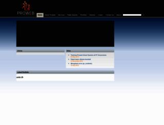 prowebpro.com screenshot