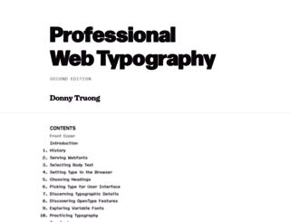 prowebtype.com screenshot