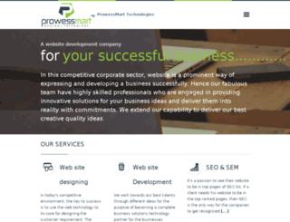 prowessmart.com screenshot