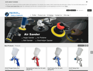 prowin-tools.com.tw screenshot
