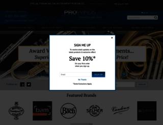 prowinds.com screenshot