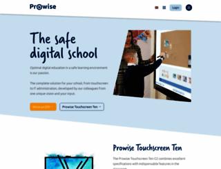prowise.com screenshot