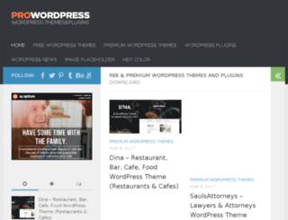 prowordpress.org screenshot