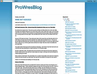 prowresblog.blogspot.com screenshot