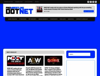 prowrestling.net screenshot
