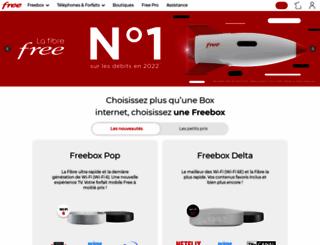 proxad.net screenshot