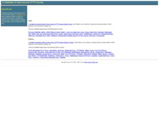 proxies.xhaus.com screenshot
