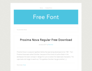 proximanovafree.com screenshot
