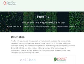 proxtox.com screenshot