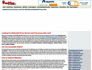 proxville.com screenshot