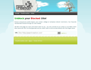 proxy.pearlcreation.com screenshot