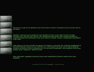 proxy.speedtest.at screenshot