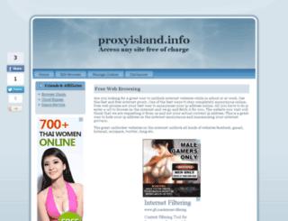 proxyisland.info screenshot