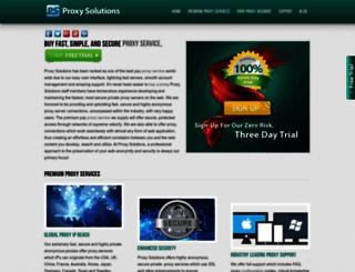 proxylists.net screenshot