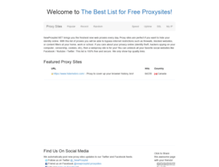 proxysites.pw screenshot