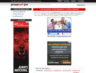 proxysurf.pw screenshot