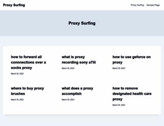 proxysurfing.org screenshot