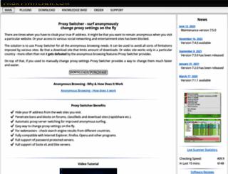 proxyswitcher.com screenshot