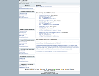 proxytm.com screenshot