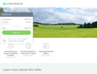 proxyweb.se screenshot