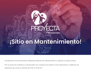 proyectapensiones.com.mx screenshot
