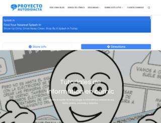 proyectoautodidacta.com screenshot