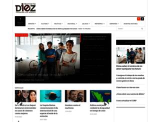proyectodiez.mx screenshot