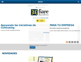 proyectofiare.com screenshot