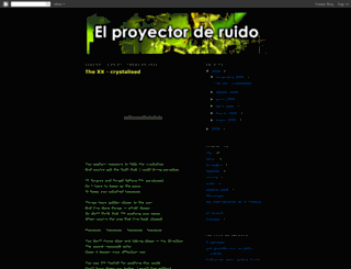proyectoruido.blogspot.com screenshot