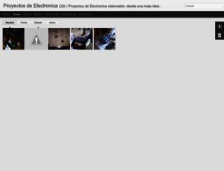 proyectos-d2k.blogspot.hr screenshot
