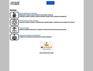 proyectosaten.com screenshot