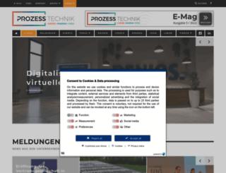 prozesstechnik-portal.de screenshot