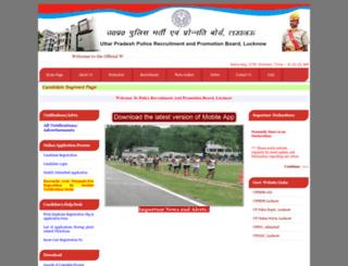 prpb.gov.in screenshot