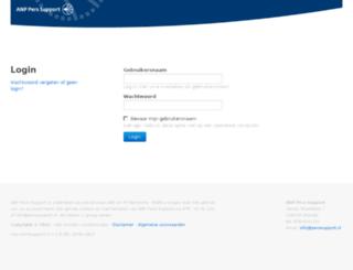 prs.perssupport.nl screenshot