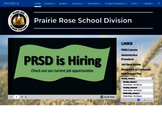 prsdmb.ca screenshot