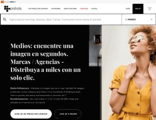 prshots.es screenshot