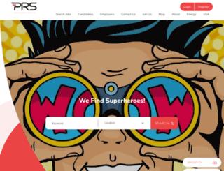 prsjobs.com screenshot