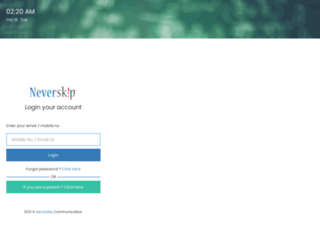 prsnjr.neverskip.in screenshot