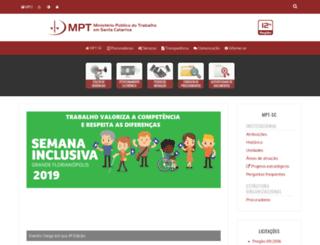 prt12.mpt.gov.br screenshot