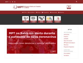 prt5.mpt.gov.br screenshot