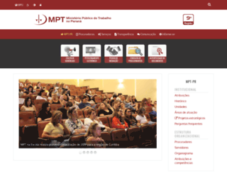 prt9.mpt.gov.br screenshot